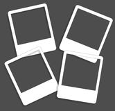 Set of cute frames for photos, hand drawn style Royalty Free Stock Photo