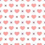 Set of Cute retro abstract seamless pattern.Perfect for decoration postcards, brochures, textiles or paper packaging.Ideal Save Th Royalty Free Stock Photos