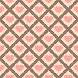 Set of Cute retro abstract seamless pattern.Perfect for decoration postcards, brochures, textiles or paper packaging.Ideal Save Th