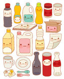 Set of Cute Rubbish. Vector file EPS10 Royalty Free Stock Image