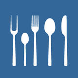 Set of cutlery Royalty Free Stock Image