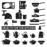 Set cutlery ikony ilustracji