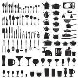 Set cutlery ikony Obraz Stock