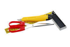 Set of cutting tools Stock Photography