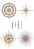 Set cyrklowi elementy Obraz Royalty Free