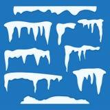 Set czapy lodowa ilustracji