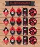Set Czarna Piątek sprzedaż Czarny Piątku sztandar dodatkowy sztandar był może format rozmieniona sprzedaż dysk Fotografia Royalty Free