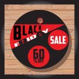 Set Czarna Piątek sprzedaż Czarny Piątku sztandar dodatkowy sztandar był może format rozmieniona sprzedaż dysk Zdjęcie Royalty Free