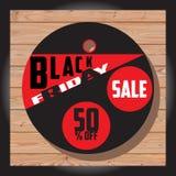 Set Czarna Piątek sprzedaż Czarny Piątku sztandar dodatkowy sztandar był może format rozmieniona sprzedaż dysk Zdjęcie Stock