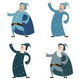 Set czarownicy ilustracja wektor