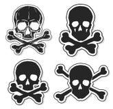 Set czaszki i Crossbones ilustracji