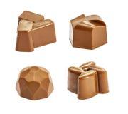 Set czekoladowy candie Obrazy Stock