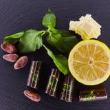 Set czekoladowy candie Obraz Stock