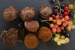 Set czekoladowy candie, Zdjęcie Royalty Free