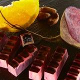 Set czekoladowy candie, Zdjęcie Stock