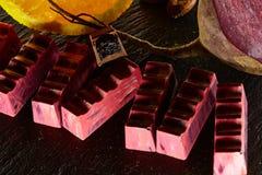 Set czekoladowy candie, Fotografia Stock