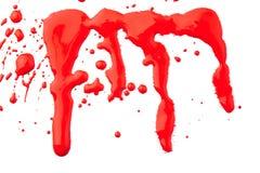Set czerwoni obwiśnięcia ilustracji