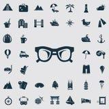 Set czterdzieści mostownic ikon Obrazy Stock