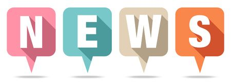 Set Cztery mowa bąbli wiadomości Retro koloru ilustracja wektor