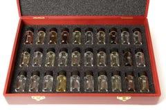 Set czyści wino aromaty obraz stock
