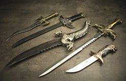 Set of Daggers Stock Photos