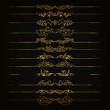 Set of  damask ornaments. Stock Images