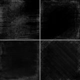 Set of dark backgrounds Royalty Free Stock Photo