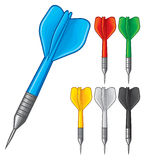 Set of darts Royalty Free Stock Photo