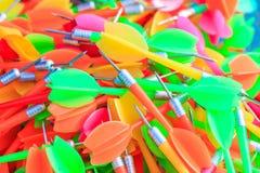 Set of darts and arrow Stock Photo