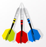 Set of darts Royalty Free Stock Photography