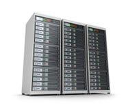 Set of data servers Stock Image