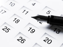 Set a date 5 Royalty Free Stock Image