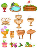 Set of decoration garden Stock Photo