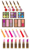 Set of decorative cosmetics Royalty Free Stock Images
