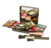 Set of decorative cosmetics Stock Images