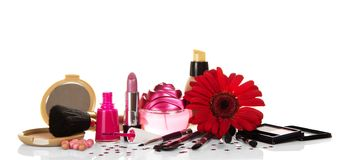 Set of decorative cosmetics Stock Photography
