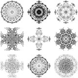Set of decorative elements Stock Photography