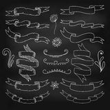 Set of decorative elements. Single vector objects. Royalty Free Stock Photos