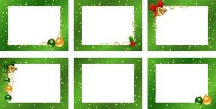 Set decorative frames stock illustration