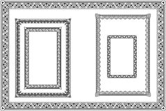 Set of decorative frames Royalty Free Stock Images