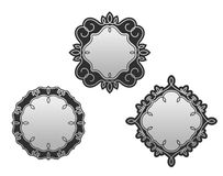 Set of decorative frames Royalty Free Stock Photo