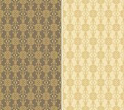 Set of decorative  patterns Stock Photo