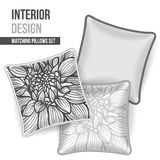 Set of decorative pillow Royalty Free Stock Photography