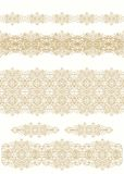 Set of decorative ribbons Stock Photo