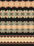 Set of decorative seamless laced patterns Royalty Free Stock Photo