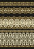 Set of decorative seamless laced patterns Stock Images