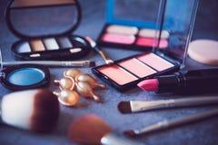 Set dekoracyjni kosmetyki dla kobiet obraz royalty free
