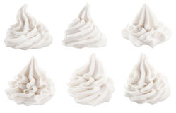 Set dekoracyjni zawijasy dla deserowych polew Obraz Royalty Free