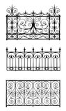 Set dekorative Gitter Lizenzfreie Stockfotografie