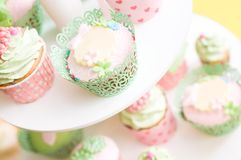 Set of delicious homemade sweets. On the plate Royalty Free Stock Photo